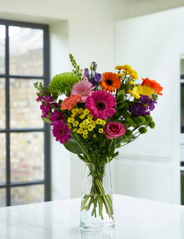 Spring Contemporary Mixed Bouquet Free Delivery