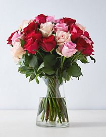 Pink Mixed Rose Bouquet