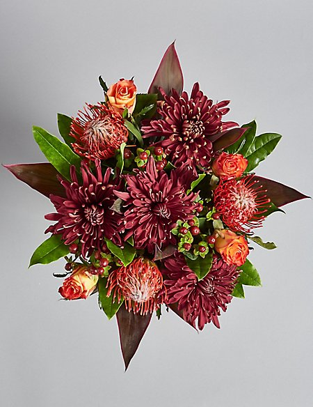 Autumn Tints Flower Bouquet