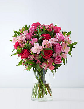 Fairtrade Rose & Alstroemeria Bouquet