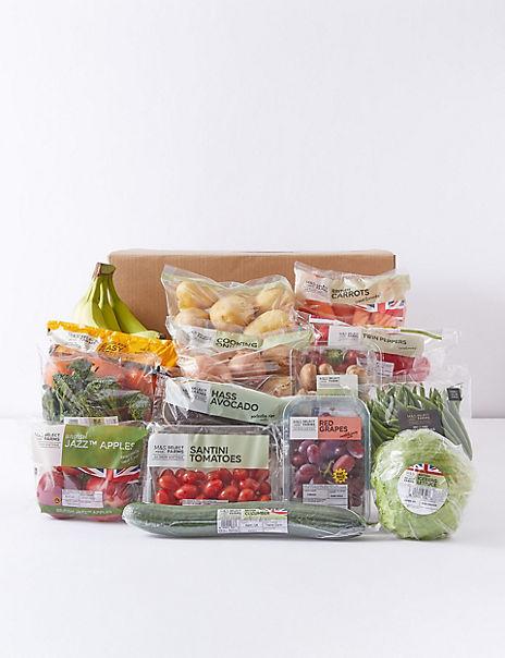 M&S Seasonal Fruit, Vegetable & Salad Food Box