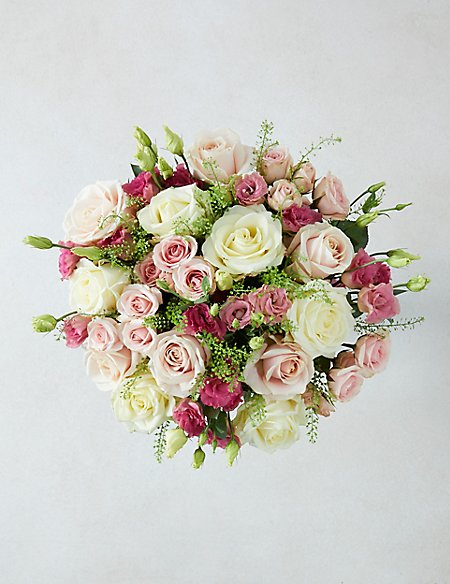 The Collection Avalanche™ Rose & Lisianthus Bouquet