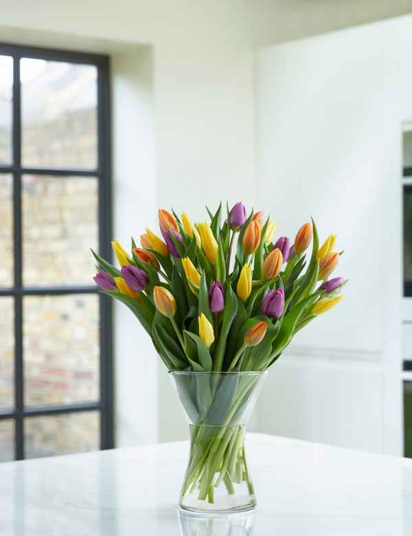Spring Tulip Trio Bouquet Sunday Delivery Available