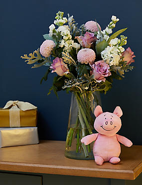 British Sunflower Abundance Bouquet