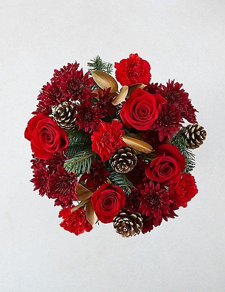 Large December Flower Bouquet