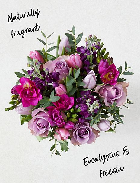 Mum's Rose & Hyacinth Bouquet