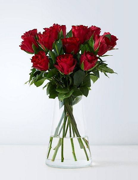 Valentine's Red Rose Letterbox Gift (Delivery from 10th February 2020)