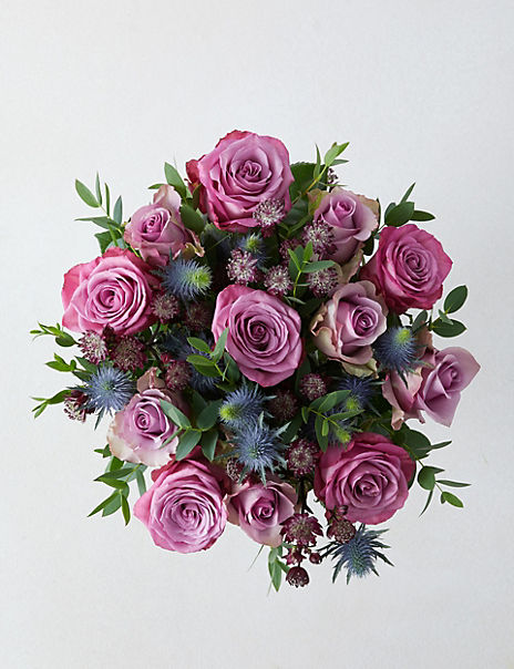 The Collection Purple Passion Bouquet (Delivery from 10th February 2020)
