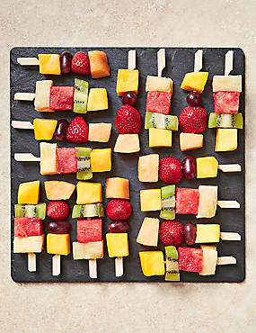 Mini Fresh Fruit Kebabs (16 Pieces)