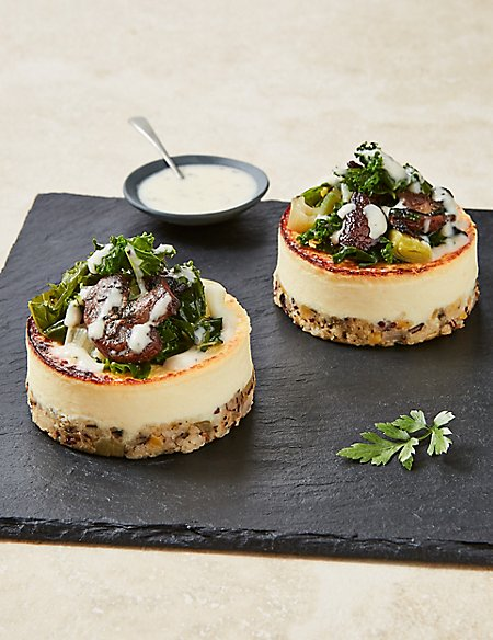 Baked Ricotta Stacks (Serves 2) - Pre-Order: Collect between 5th & 20th December