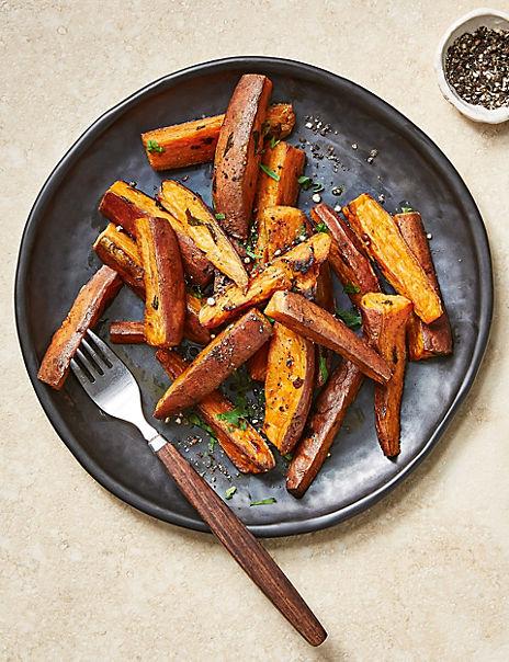 Sweet Potato Wedges (Serves 4)