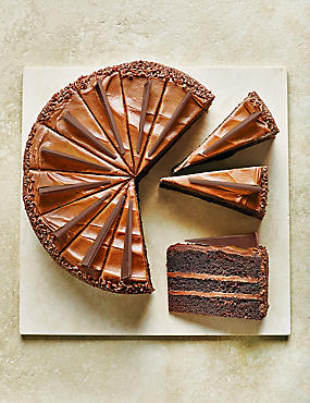 Ultimate Triple-Layer Chocolate Cake - 10% of the sale price of this product will be donated to Macmillan Cancer Support