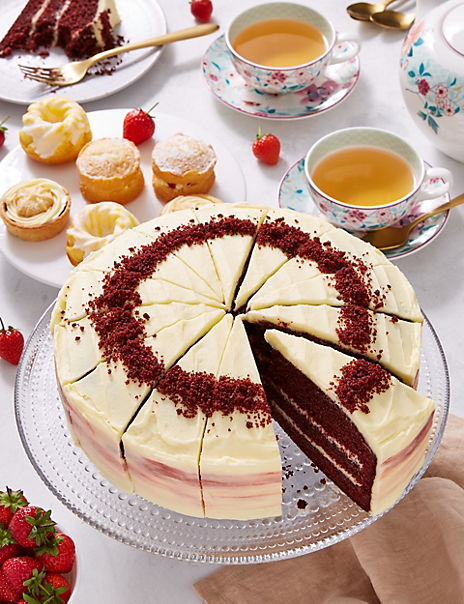 Red Velvet Triple Layer Cake- 10% of sale price will be donated to Macmillan