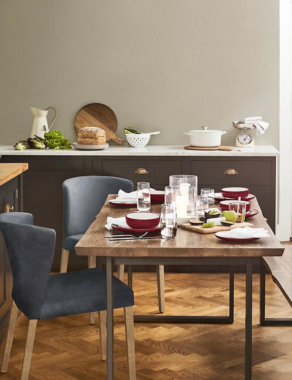 Sanford Live Edge Dining Table M S