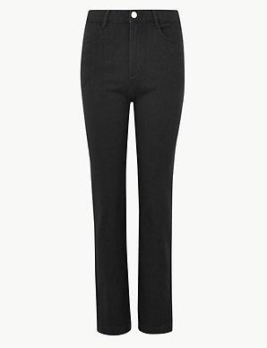 New Womens Marks /& Spencer Black Super Soft Jeggings Size 14 12 RRP £35