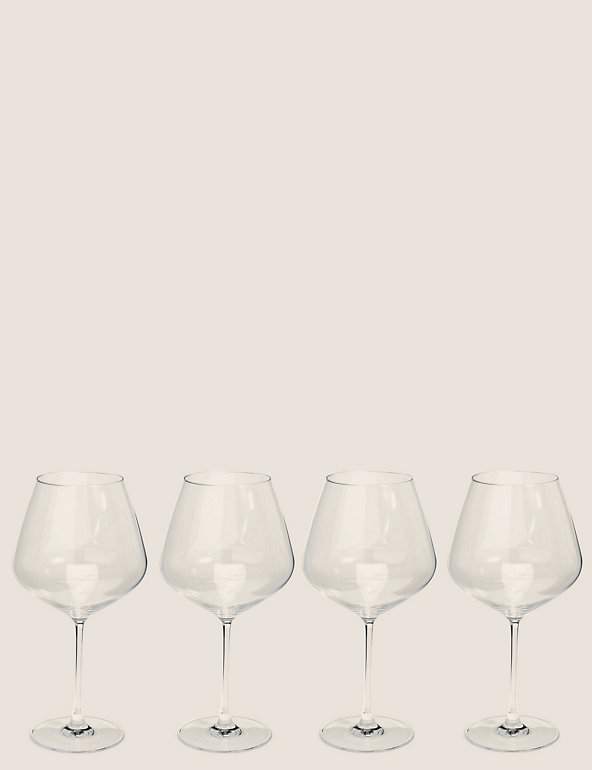 Set Of 4 Large Red Wine Glasses The Sommelier S Edit M S