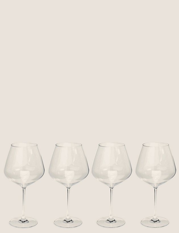 Set of 4 Large Red Wine Glasses | The Sommelier's Edit | M&S