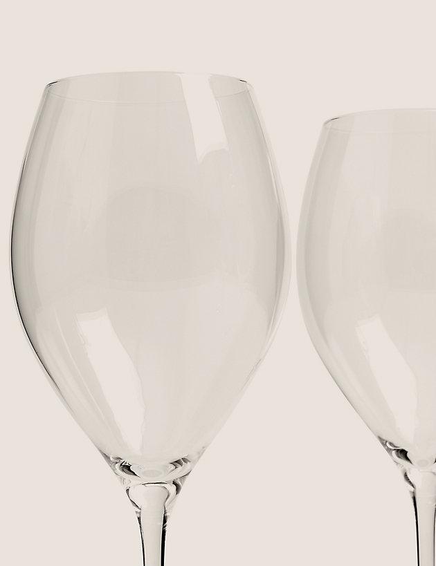 Set of 4 White Wine Glasses | The Sommelier's Edit | M&S