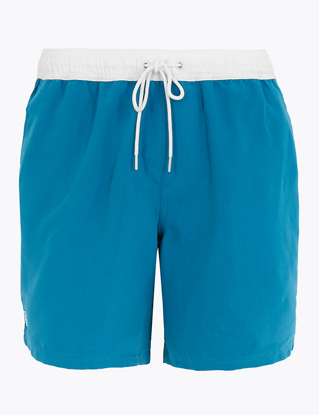 Side Piped Swim Shorts