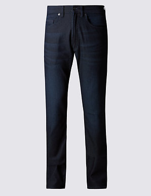 e1a7b6f7809b Slim Fit Stretch Travel Jeans   M&S Collection   M&S