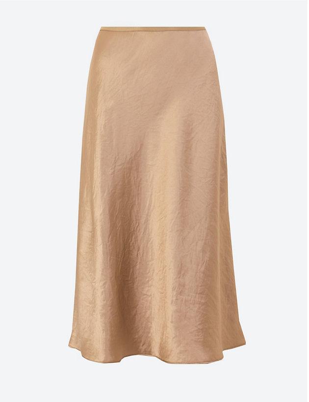 Slip Midi Skirt