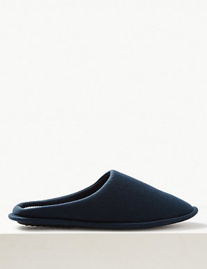 be3a07f0f1 Slip-on Mule Slippers with Freshfeet™ | M&S Collection | M&S