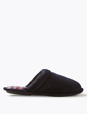 67418a0b8d Slip-on Mule Slippers with Thinsulate™ | M&S Collection | M&S