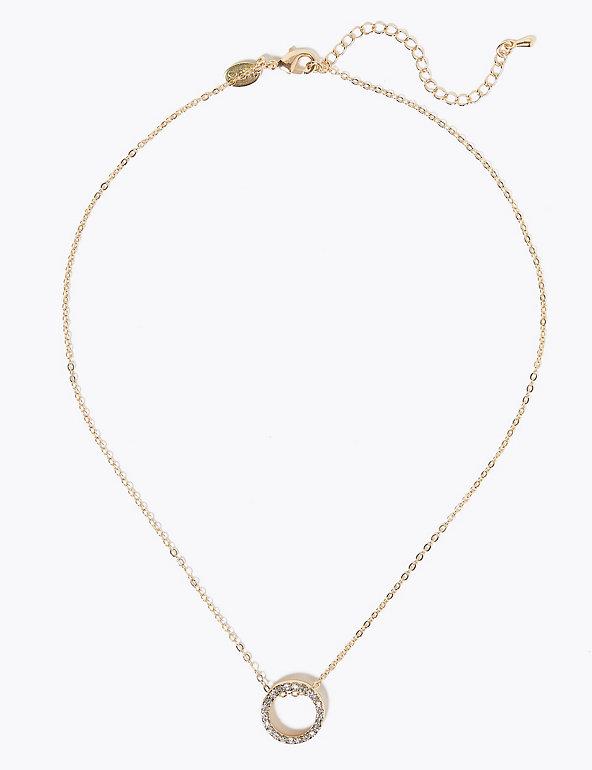 Silver Rose Gold Delicate Circle necklace Circle Necklace holiday christmas gift, single circle Gold Circle