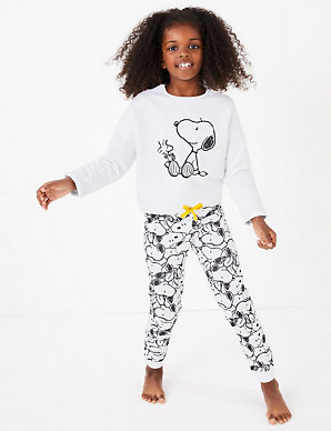 beau rechercher le dernier grande vente de liquidation Snoopy™ Print Pyjama Set (5-16 Years)