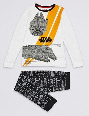 da1aba344 Star Wars™ Pyjamas (5-14 Years)   M&S