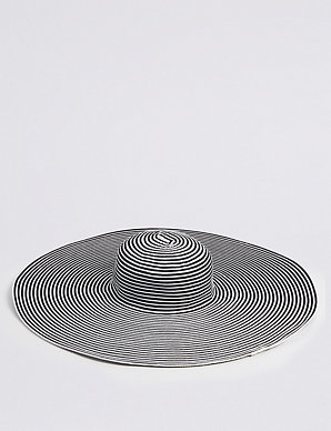 89093a76 Striped Floppy Hats | M&S Collection | M&S