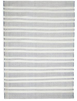 Striped Indoor & Outdoor Rug | M&S
