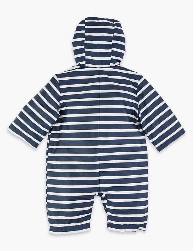 Striped Puddle Suit