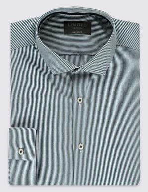 4cf80549ff Striped Super Slim Fit Shirt | Limited Edition | M&S
