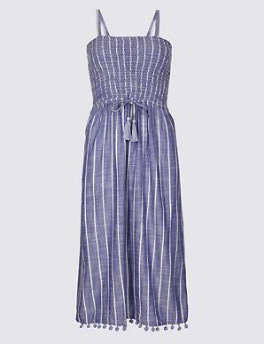 9c50e2c4fc1 Striped Swing Beach Dress