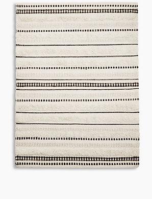 Striped Wool Rug M S