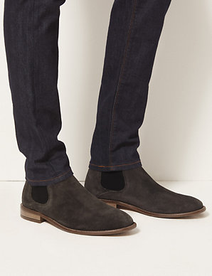 c9a40b05b5 Suede Chelsea Boots | M&S Collection Luxury | M&S