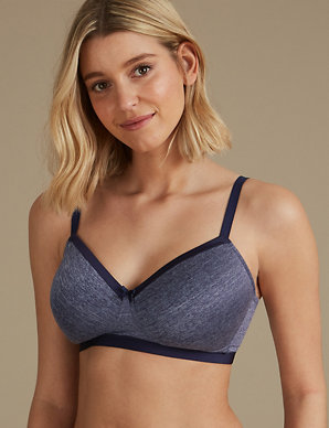 dad32bd9d Sumptuously Soft Padded Full Cup T-Shirt Bra AA-E
