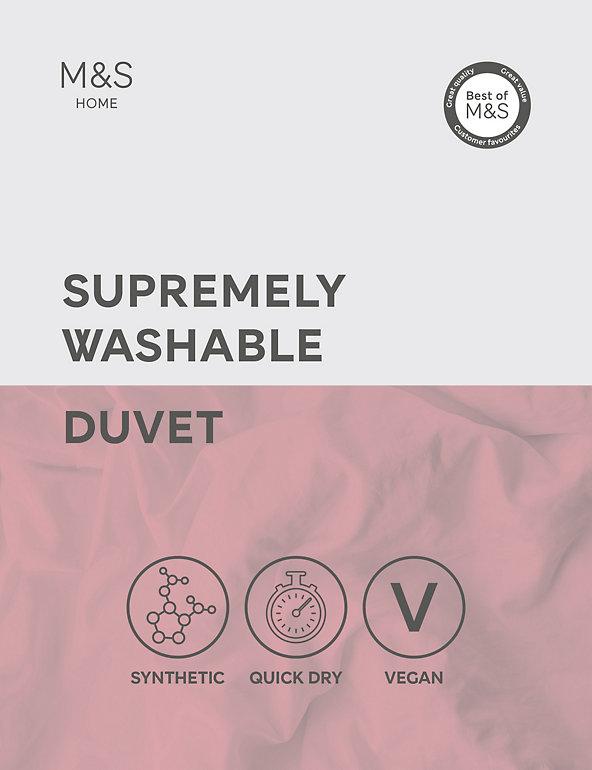 Supremely Washable 4.5 Tog Duvet | M&S