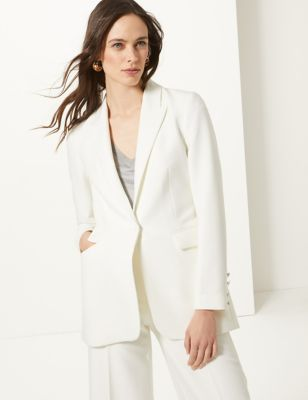 Single Breasted Blazer by Tracked Express Delivery: