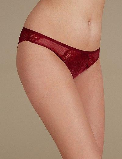 007a69dcfa3e Velvet Lace Brazilian knickers