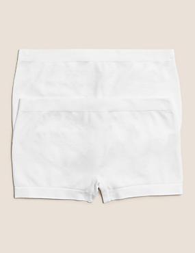 2fb313e525 2 Pack Seamfree Shorts (6-16 Years) ...