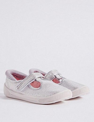 b01c5933c3f Zapatillas de lona infantiles con velcro (5 pequeño-12 pequeño ...