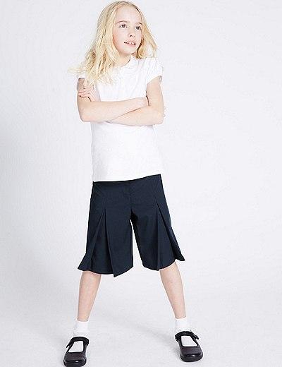 Dívčí kalhotová sukně  3ac874bc0d