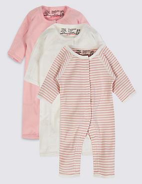 Kombinézy na spaní pro nejmenší miminka ze 100% bavlny 9bd2e98da2