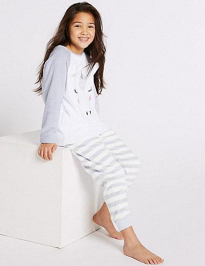 81dae871f Unicorn Fleece Pyjamas (1-16 Years)