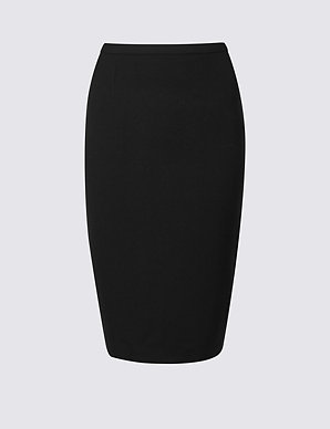9bcd6ee088 Tailored Fit Pencil Skirt | M&S Collection | M&S