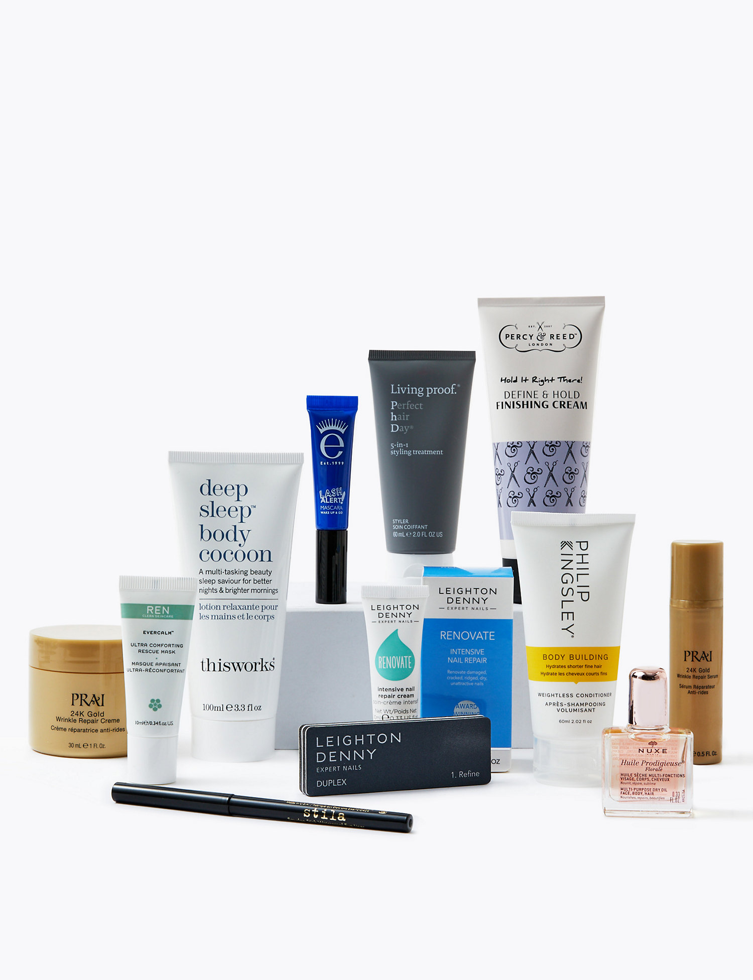 marks and spencer beauty edit box contents
