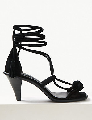 4aeb813400 The Kat Heeled Gladiator Sandal | M&S Collection | M&S