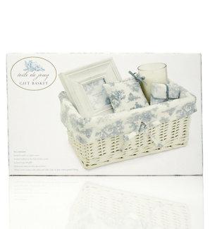Toile de Jouy Gift Basket